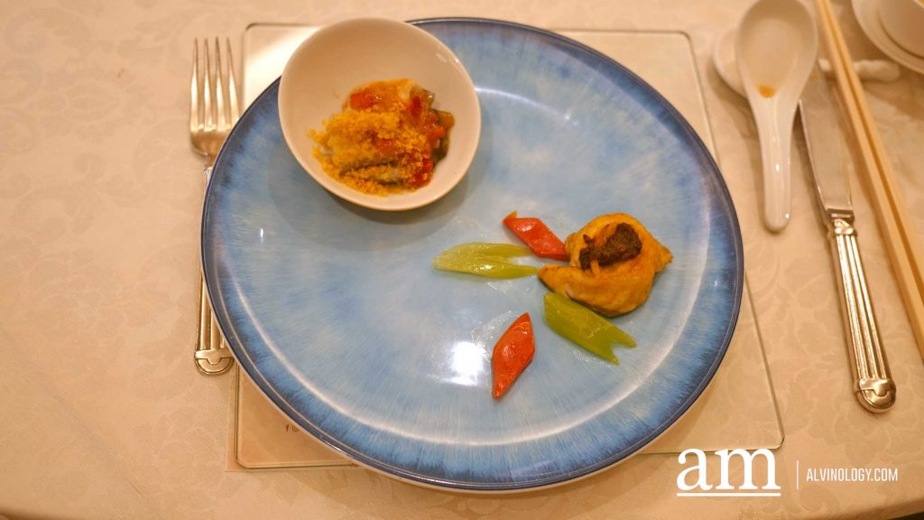 Dup Jade Perch - Spiced Coconut Milk Sauce and Capsicum Preserved Chili