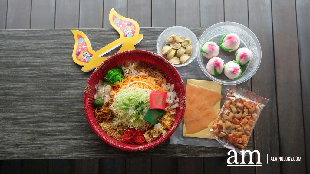 Deliveroo x Soup Restaurant's Limited-Edition Year Of The Ox Yusheng Kits - Stand a Chance to Win $50 Deliveroo Credits with every purchase - Alvinology