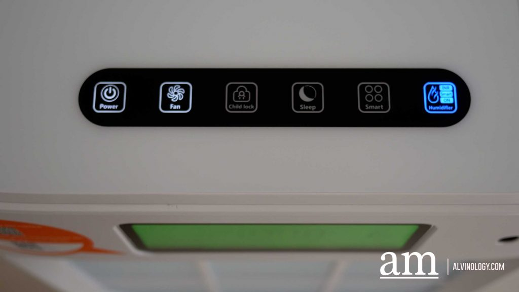 Air purifier with comprehensive features: ECOM Mask EK 030+ - Alvinology