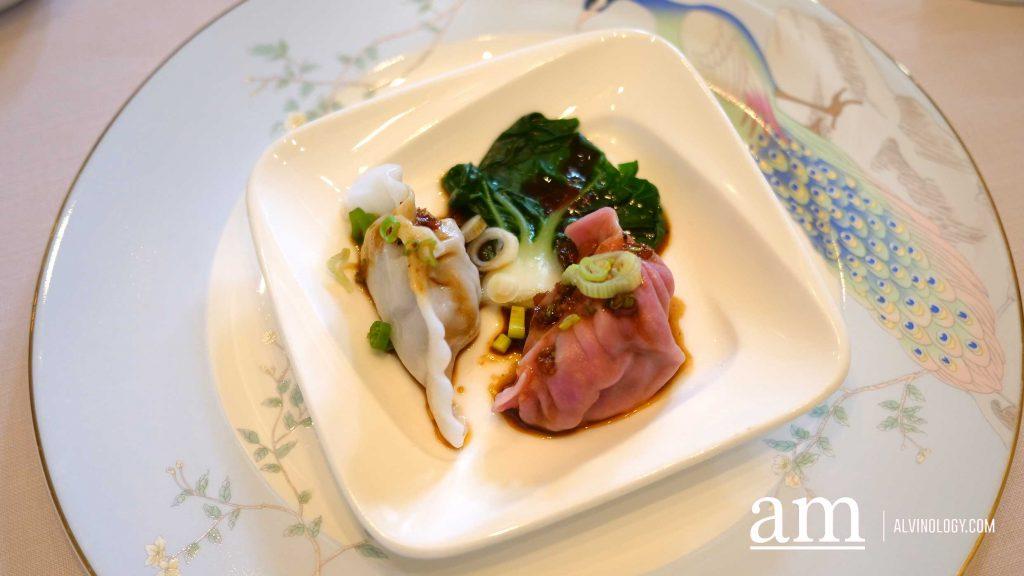 Poached Wagyu Beef and White Radish Dumpling