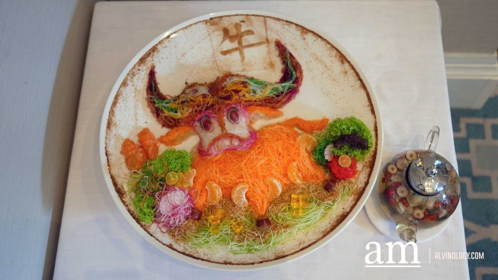 Fullerton Hotel Singapore's Jade Restaurant Year of the Ox Bountiful Feast for CNY 2021 - Alvinology