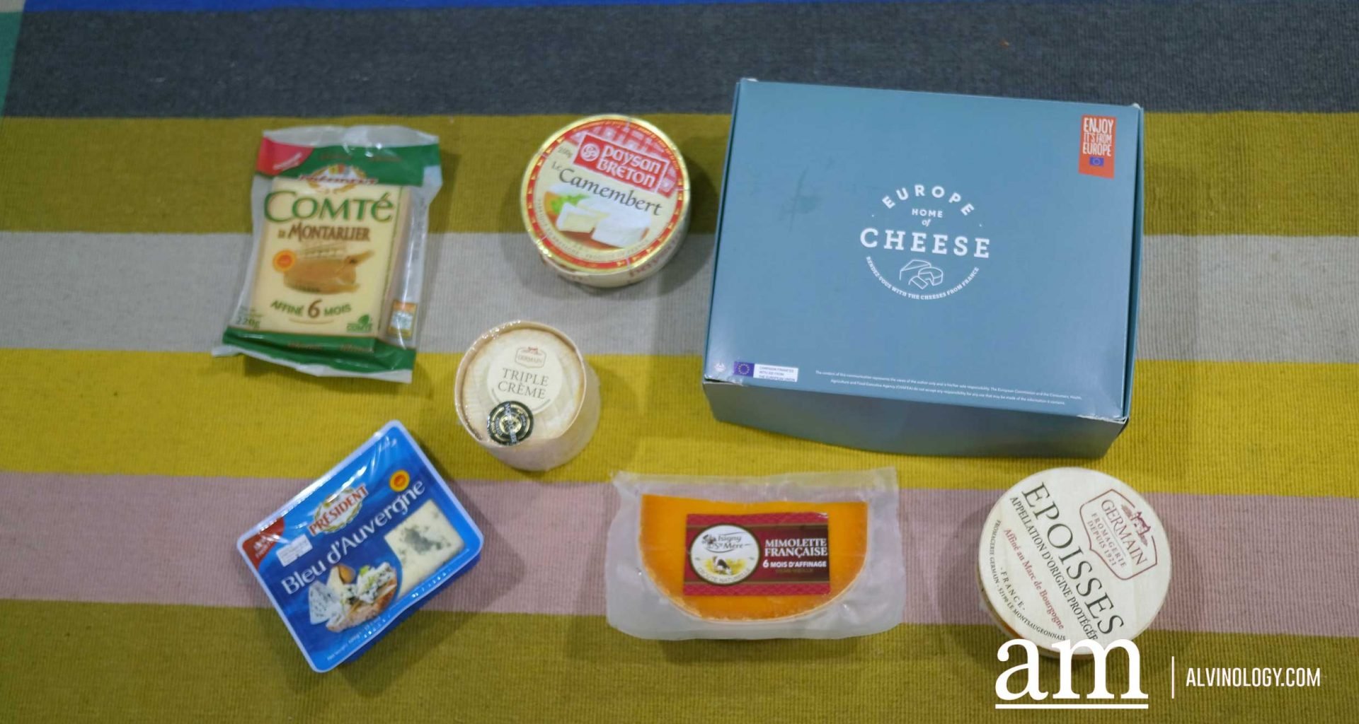East meets West - French Cheese Pairing for CNY Goodies - Alvinology