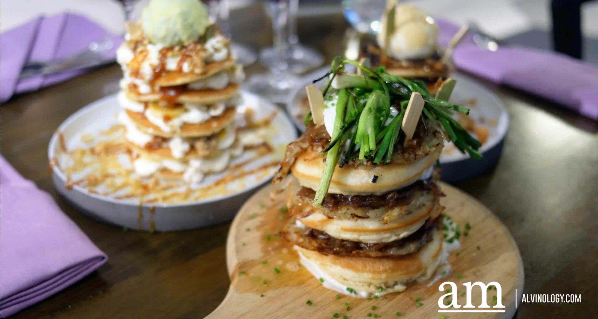 [Review] So/Sofitel Flippin' Sunday Brunch: Pancakes Sweet, Savoury and Boozy! - Alvinology