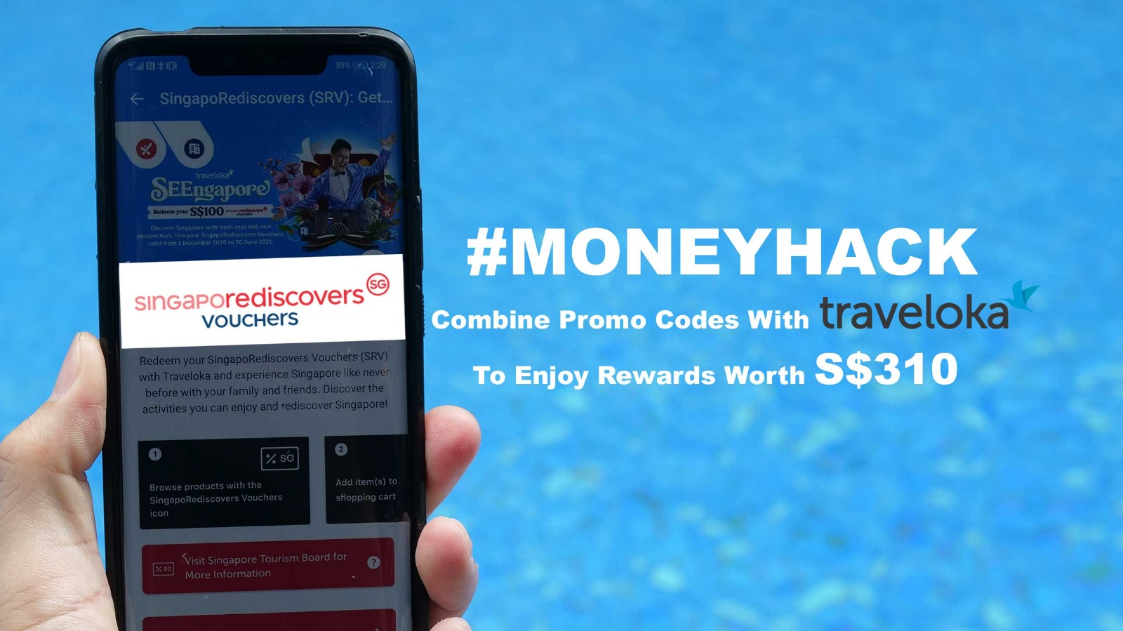 [$10 Coupon Inside!] Hack your SingapoRediscovers Vouchers By Combining Coupons And Get Rewards Up To $310 On Traveloka - Alvinology