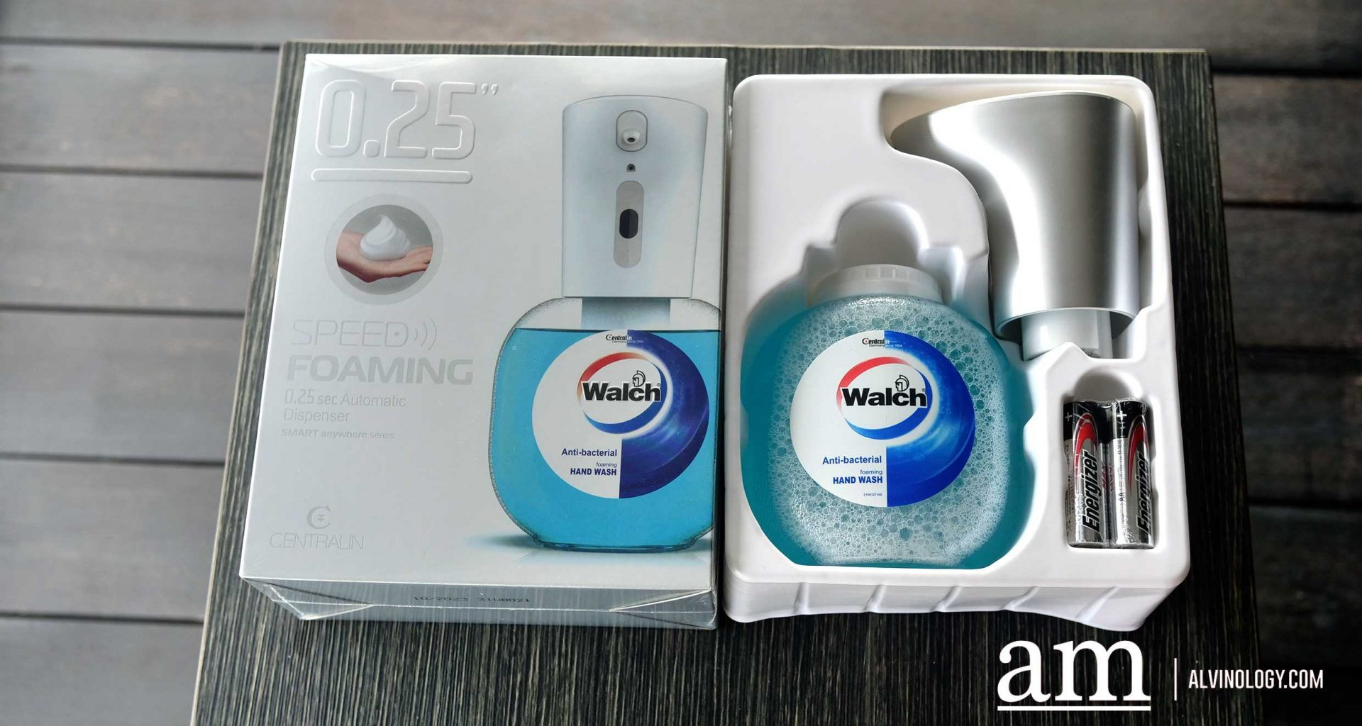 [REVIEW] Walch Speed Foaming Automatic Hand Wash - Alvinology