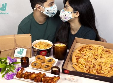 Steal A Pizza My Heart This Valentine's Day With Limited-Edition Deliveroo and Pizza Hut Couples Face Masks - Alvinology