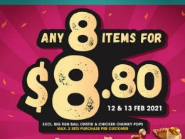 [PROMO] Old Chang Kee Opens for CNY with an 8 for $8.80 Deal! Learn more here – - Alvinology