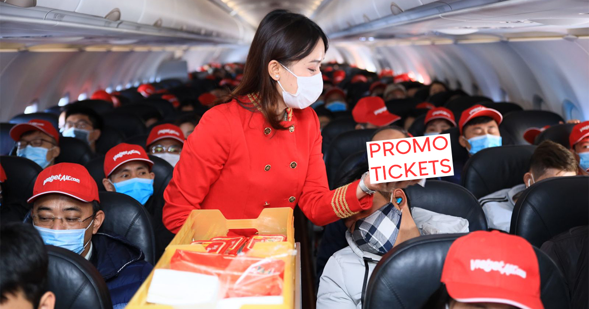 "[AIRFARE PROMO] Vietjet offers ""Zero Vietnam dong"" fare and attractive weekly prizes to celebrate the 2021 Lunar New Year - Alvinology"