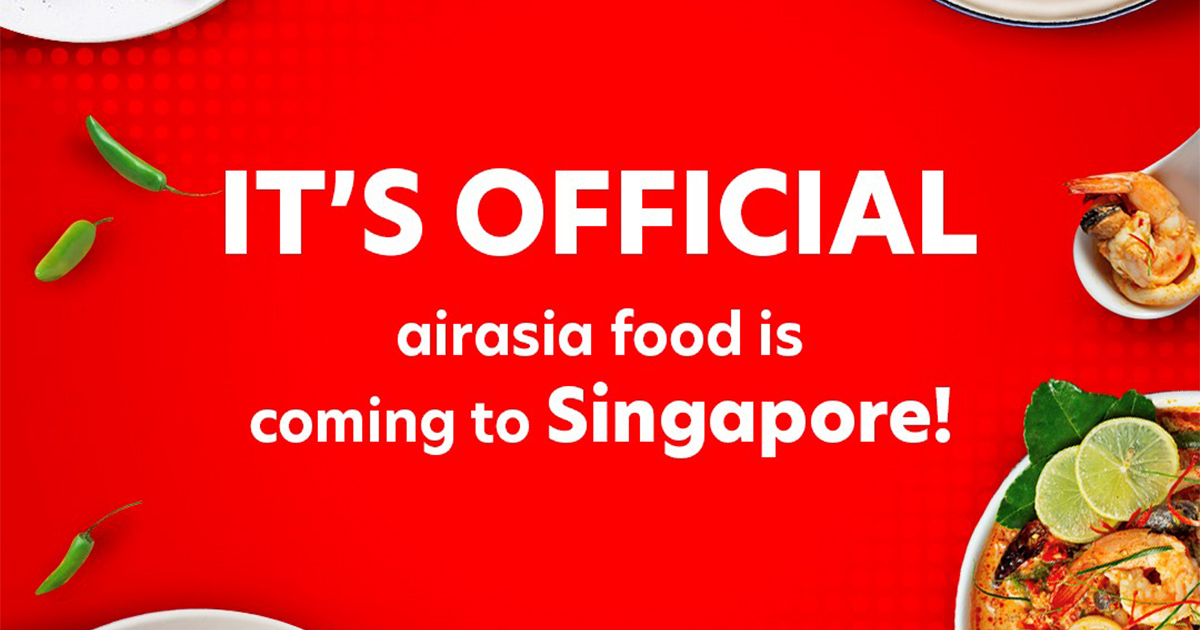 airasia food delivery platform is coming to Singapore – sign up as merchant before March 2021 to enjoy special early bird rates! - Alvinology