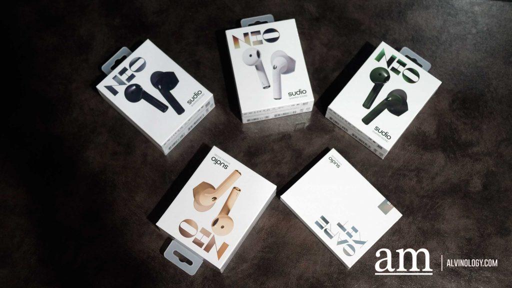 [15% off Promo Code + Giveaway] Sudio Nio Wireless Earphones for the Niu Year - Alvinology