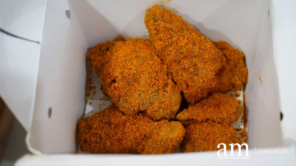 [REVIEW] Texas Chicken launches Limited Time Hae Bee Hiam Chicken - perfect for CNY - Alvinology