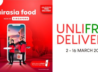 [UNLIMITED FREE DELIVERY] airasia food launches in Singapore offering unlimited free delivery for two weeks! - Alvinology