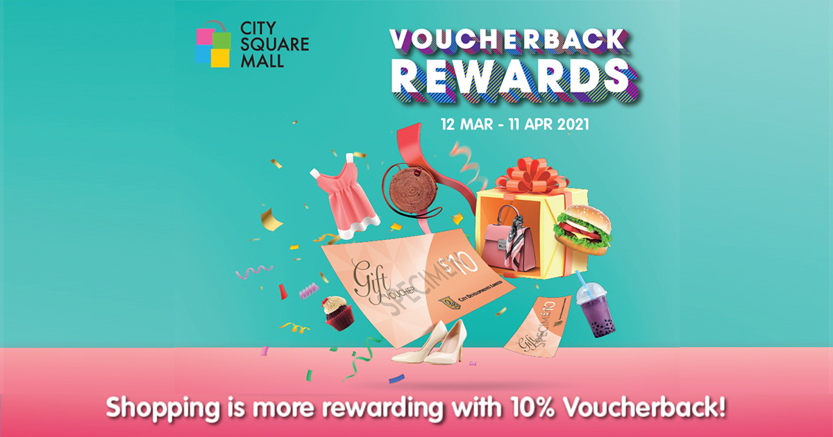 [GIVEAWAY] Spin and win a $10 merchant voucher at City Square Mall; Check every March and April 2021 here - - Alvinology