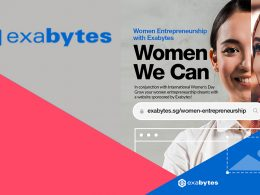 Businesswoman? Exabytes offers a complimentary website/online store to 200 aspiring female entrepreneurs in Singapore and Malaysia; Register Here - - Alvinology