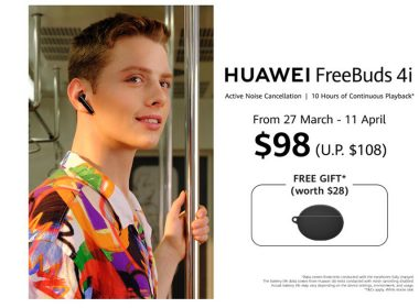 FreeBuds 4i – HUAWEI's latest true wireless earphones with up to 10 hours playback on a single charge, will be retailing at S$108 - Alvinology