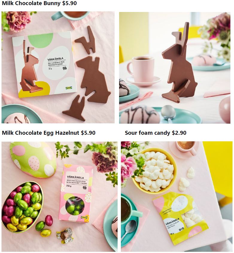 IKEA introduces new menu items including a delightful School Holiday Special coupled with sweet Easter snacks - Alvinology