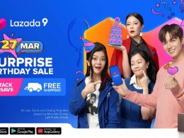 Award-winning Artiste Michelle Chong is Lazada's first Local Ambassador; look out for this year's Surprise Birthday Sale! - Alvinology