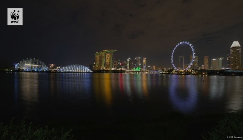 744 locations went dark across Singapore for this year's Earth Hour breaking the nation's own record - Alvinology