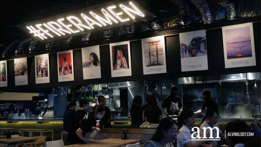Fire on Fire - Menbaka Fire Ramen introduces Singapore-exclusive Kare Miso Fire Ramen (Spicy) - Alvinology