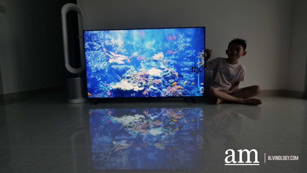 """[#Supportloca] With A Promotional price of just S$769, PRISM+ Q55, 55"""" 4k Android TV, blows Competitors away - Alvinology"""