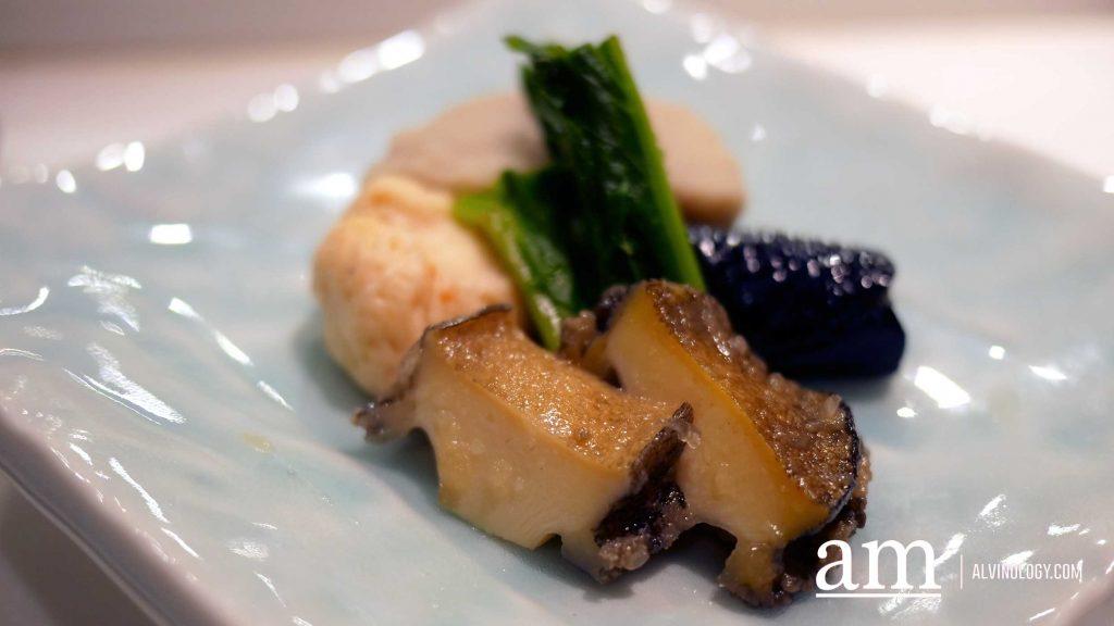 [Review] Japanese Omakase with complimentary sake pairings-Shinzo's new spring Menu - Alvinology