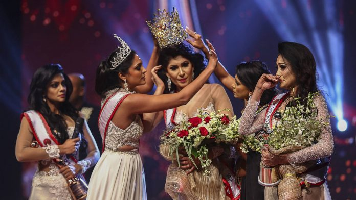 Mrs. Sri Lanka 2021 ends in crown-grabbing brawl, police reports lodged - Alvinology