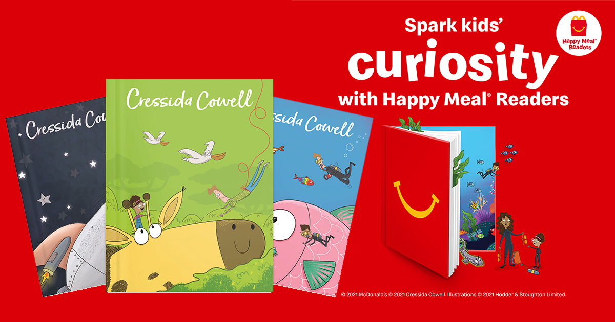 McDonald's Singapore presents 12-book series The Tiny Detectives FREE in every Happy Meal - Alvinology