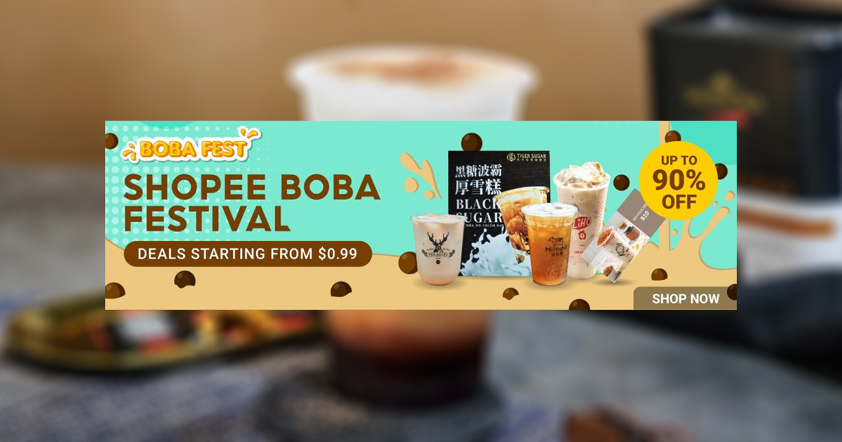 [PROMO] National Bubble Tea Day – enjoy your favourite drink for as low as $0.99! Or Win a year-long supply of FREE Bubble Tea! - Alvinology