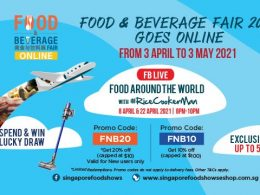 [PROMO CODE INSIDE] Enjoy 10% - 20% OFF as you feast on this year's Food & Beverage Fair; Don't miss the weekly giveaway! - Alvinology