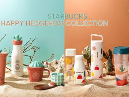 This adorable Starbucks Happy Hedgehog Collection is now available both in-store and online; Don't miss the new limited-edition Starbucks Card! - Alvinology