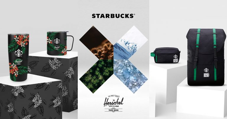 This eye-catching new Starbucks x Herschel merchandise is made from recycled coffee grounds and definitely a must-have - Alvinology