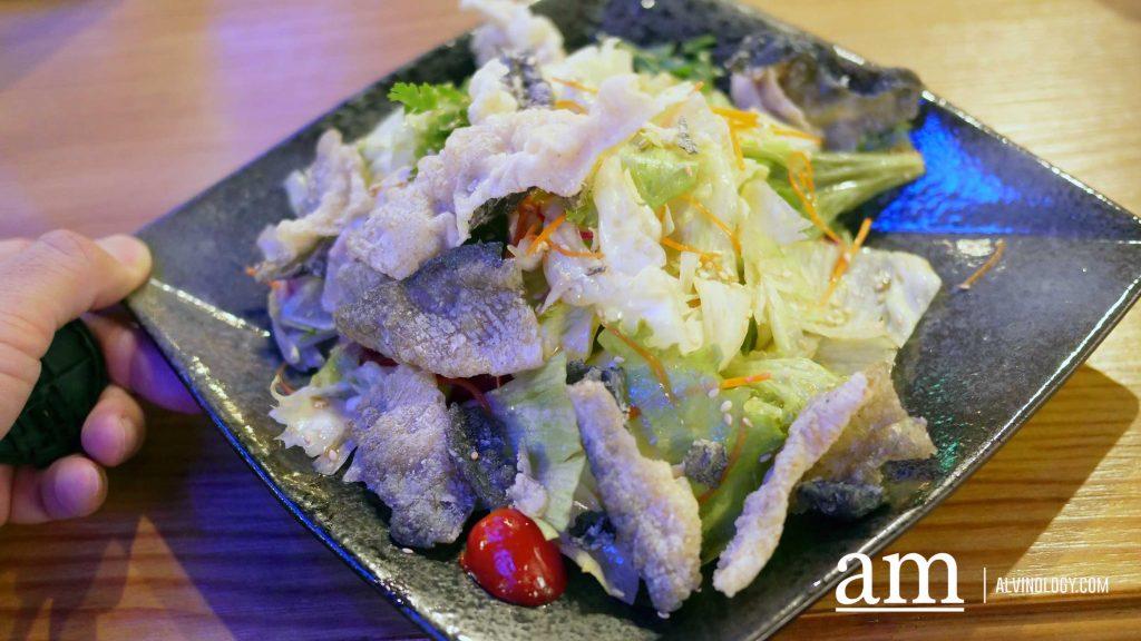Fusion Oriental Salad - Iceberg Lettuce, Carrot, Fish Skin, Oriental Dressing (S$10.90)