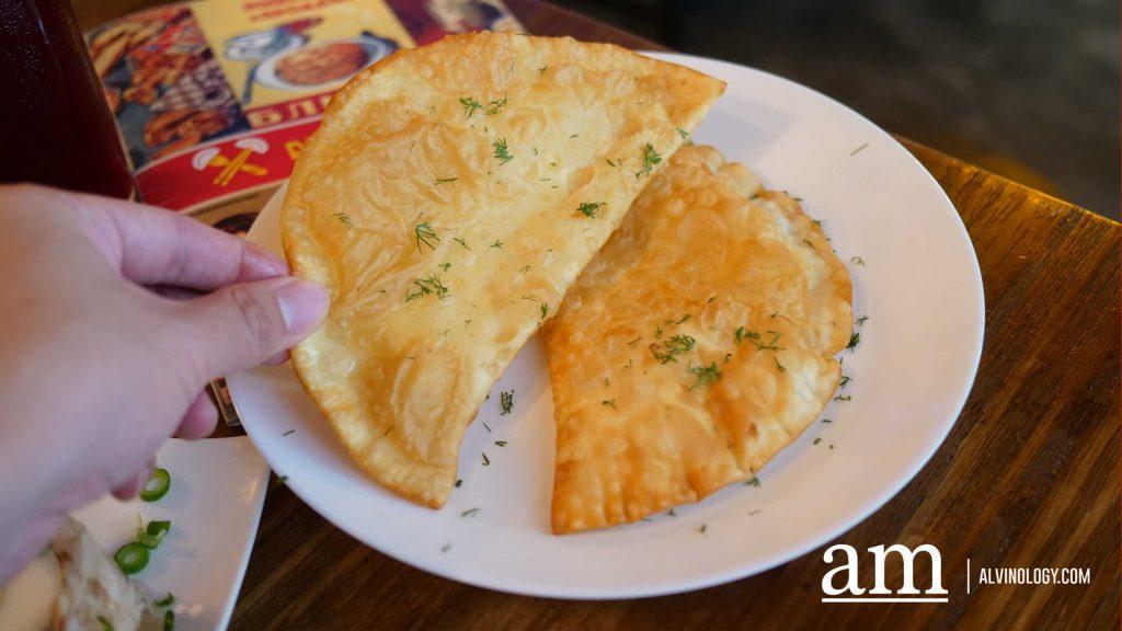 Cheese Chebureki 2pcs $12