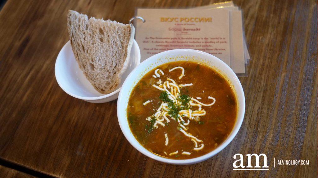 Ukrainian Borscht Soup $9.50