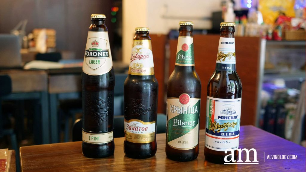 Bottled Russian Beers $16