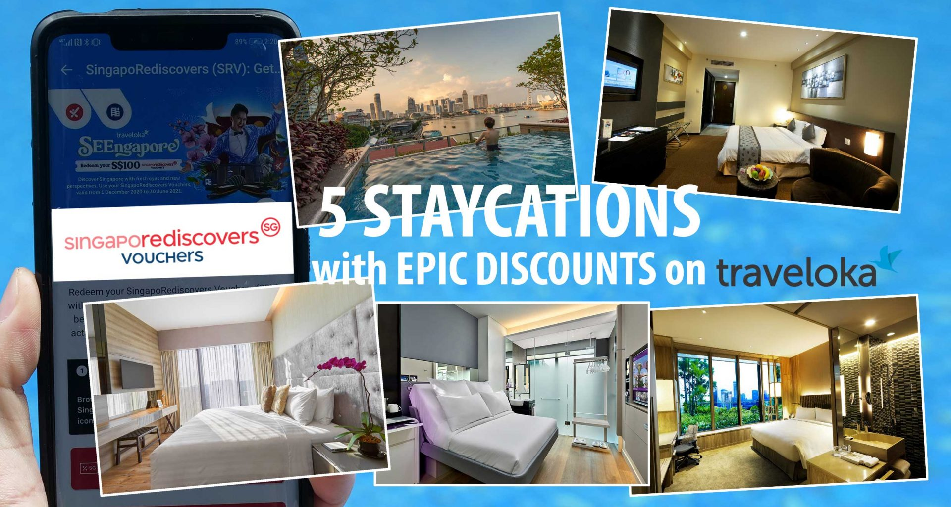 5 Staycations at Epic Discounts You Don't Want to Miss #SingapoRediscovers - Alvinology