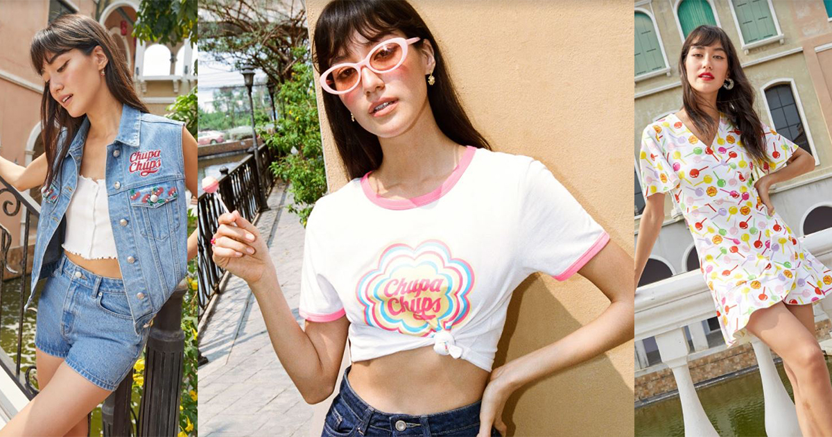 Pomelo x Chupa Chups – one-of-a-kind fashion collection featuring everyone's favourite lollipop! - Alvinology