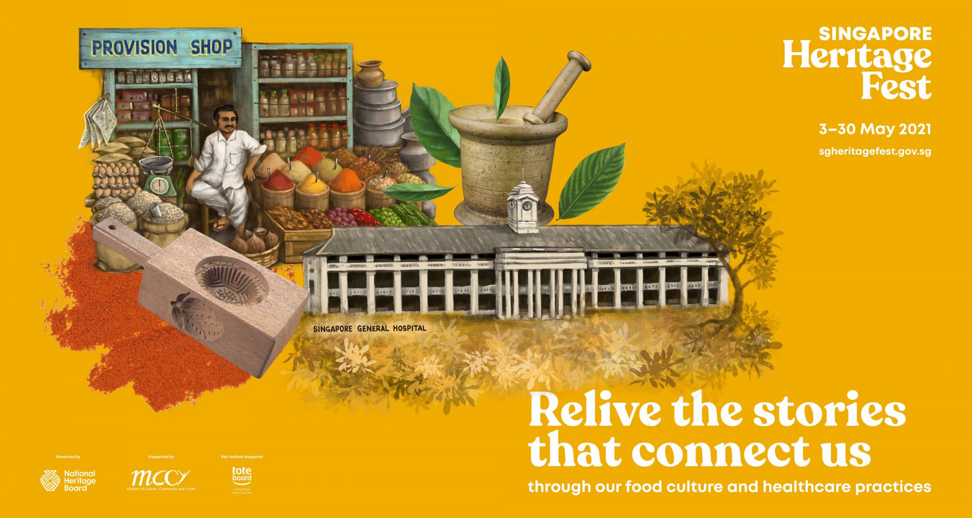 Singapore HeritageFest 2021 - The festival returns in a new hybrid format uncovering both healthcare history and food heritage - Alvinology
