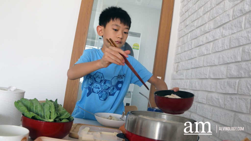 [Review] Father-son CHU Collagen #stayHome Hotpot - Alvinology