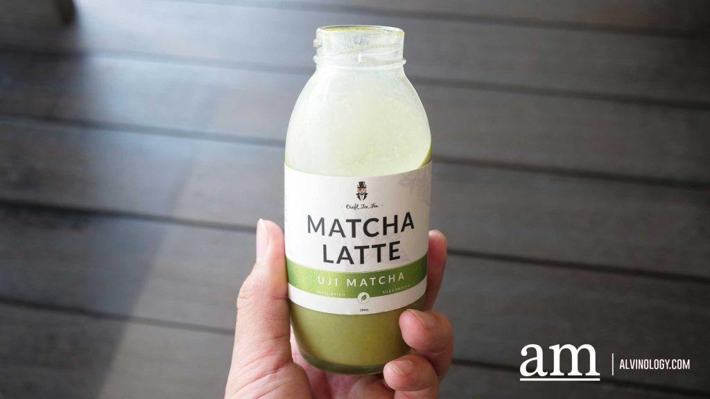 [#supportLocal] Ready-made Matcha and Hoijicha Lattes from Craft Tea Fox - Alvinology