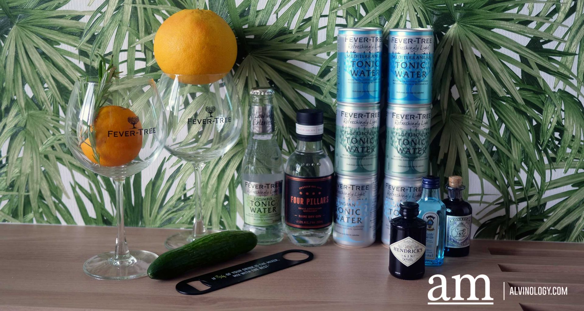 """Premium Mixer brand Fever-Tree Debuts Lighter and Lower Calorie """"Refreshingly Light"""" Tonic Water range in Singapore with four new variants - Alvinology"""