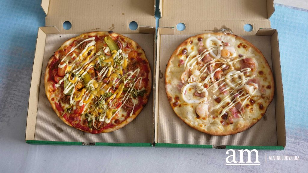 [Review] Enjoy Pizza Flavours from around the world with PizzaExpress Singapore: Hamburger Pizza, Okonomiyaki Pizza and more - Alvinology