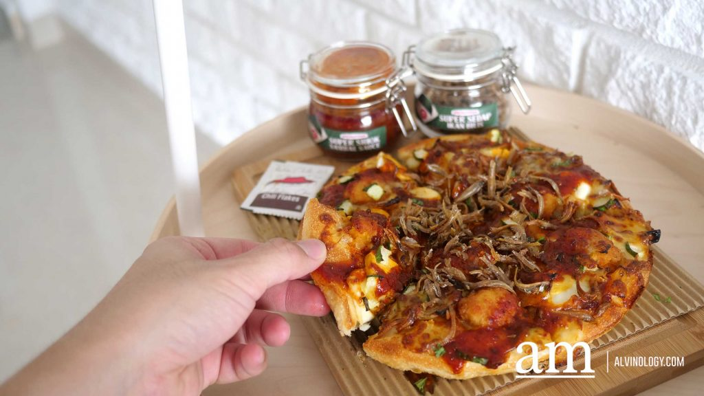 [Review] New Nasi Lemak Pizza from Pizza Hut Singapore - Alvinology