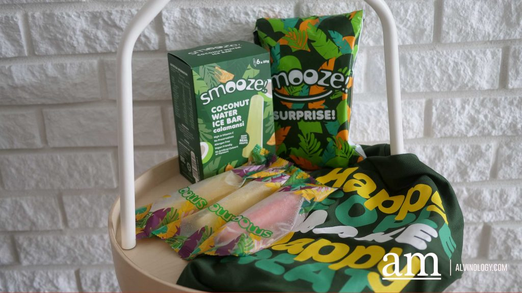 [Review] Smooze! Coconut Water Ice Bars - Alvinology