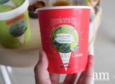 [Review] Limited Edition Kueh Salat Ice-cream from Swensen's Singapore, available exclusively on GrabFood - Alvinology