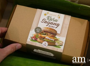 Nasi Lemak Burger anyone? Try the Rasa Sayang Burg by Quorn x VeganBurg - Alvinology