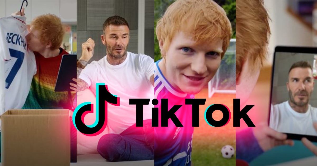 David Beckham and Ed Sheeran announce 25th June concert together on TikTok featuring Ed Sheeran's reveal of new single - Alvinology