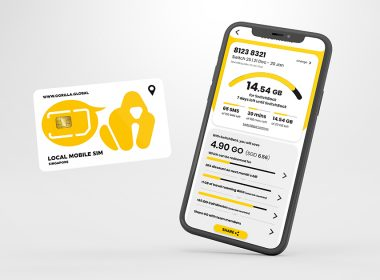 Gorilla Mobile Telco launches in Singapore offering digital smart solutions and no expiry for unused data - Alvinology