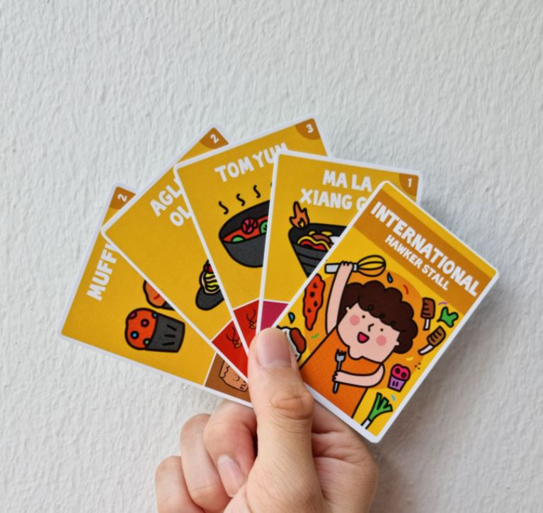 Hawker Wars card game: a fun and interactive party game that celebrates Singapore's very own Hawker Heroes - Alvinology