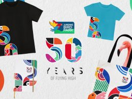 Jurong Bird Park celebrates 50 Years showcasing its first ever sustainable merchandise range – the JBP 50th Anniversary Collection - Alvinology